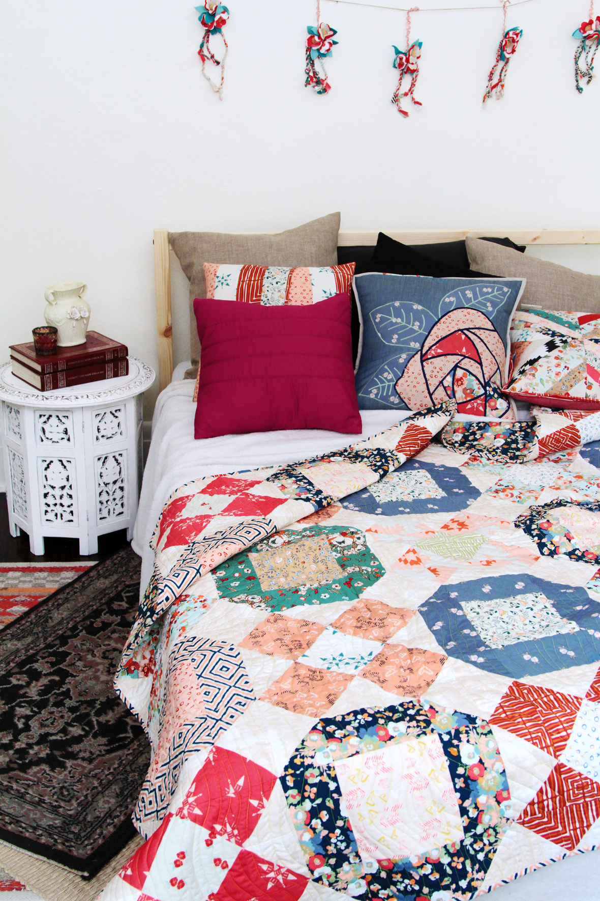 maureen cracknell xs and os quilt kit sewing pattern