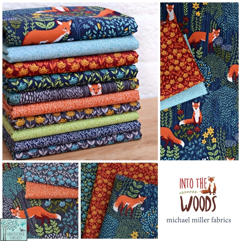 Into the Woods Fabric