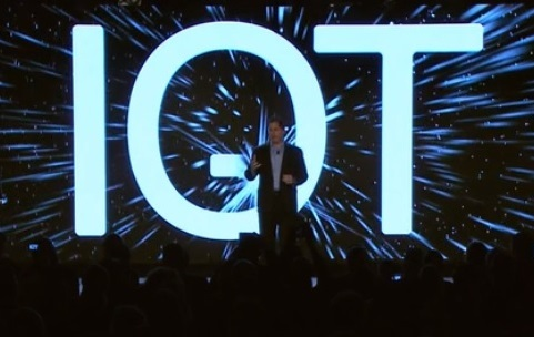 Michael Dell CEO Dell Technologies describing IQT at the IOT Strategy Day New York October 2017