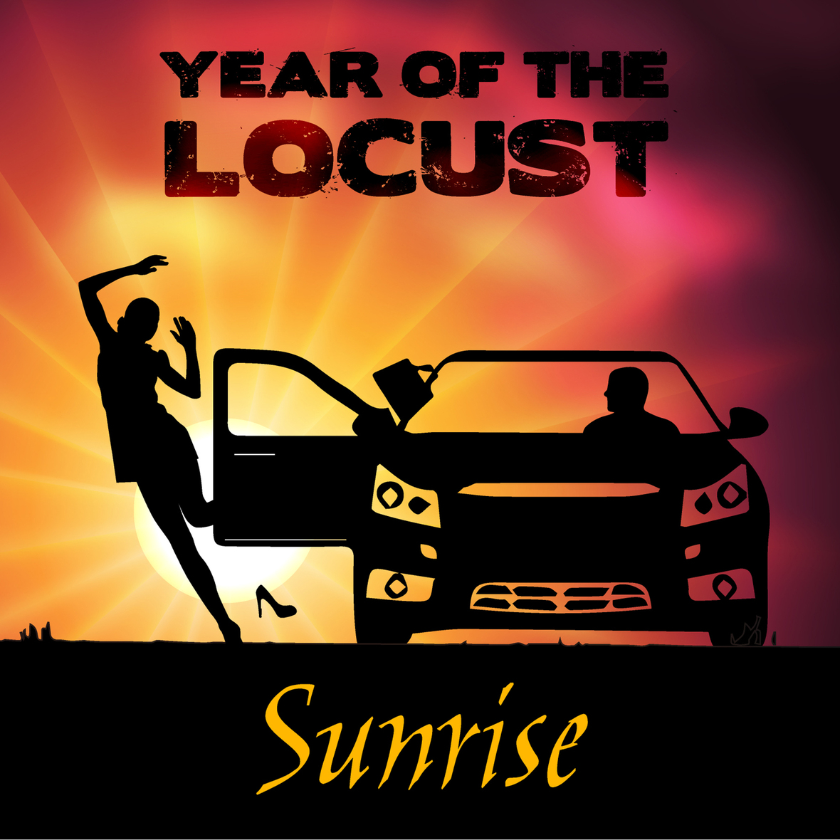 """Year of the Locust Release New Single/Video """"Sunrise"""" on"""