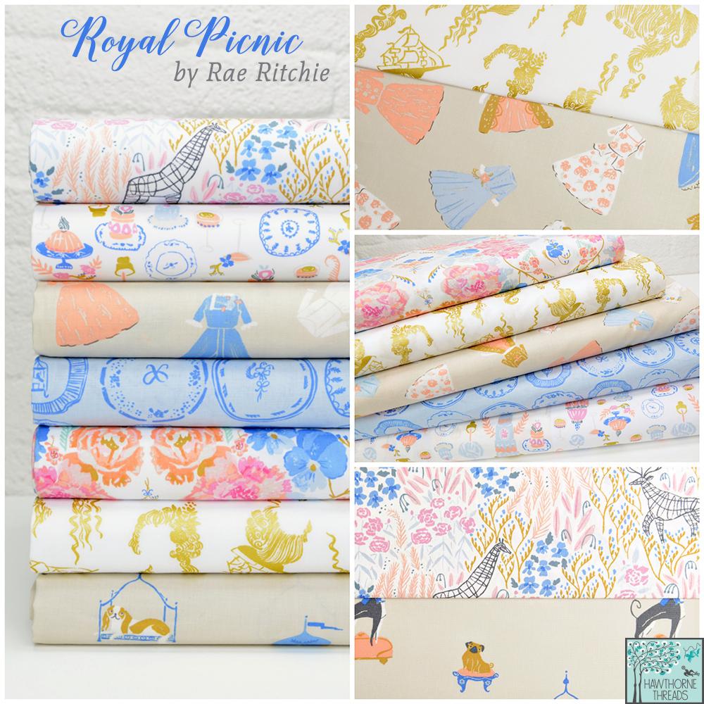 Royal Picnic Fabric Poster