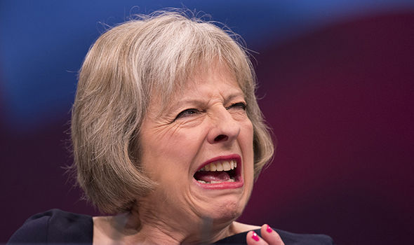 Theresa May, primer ministro de su majestad Isabel II