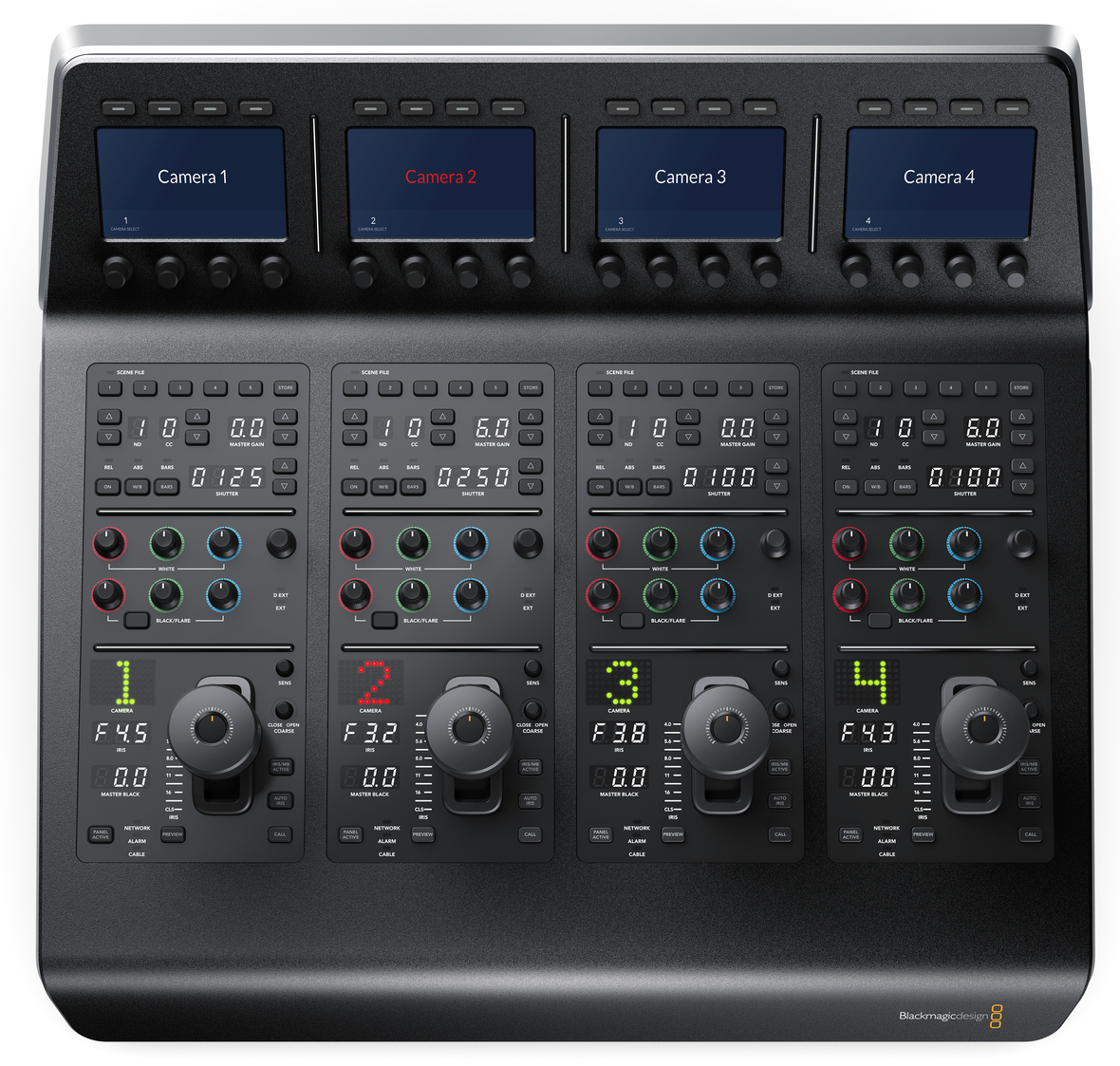 ATEM Camera Control Panel Top