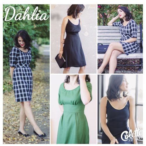 colette patterns dahlia sewing pattern