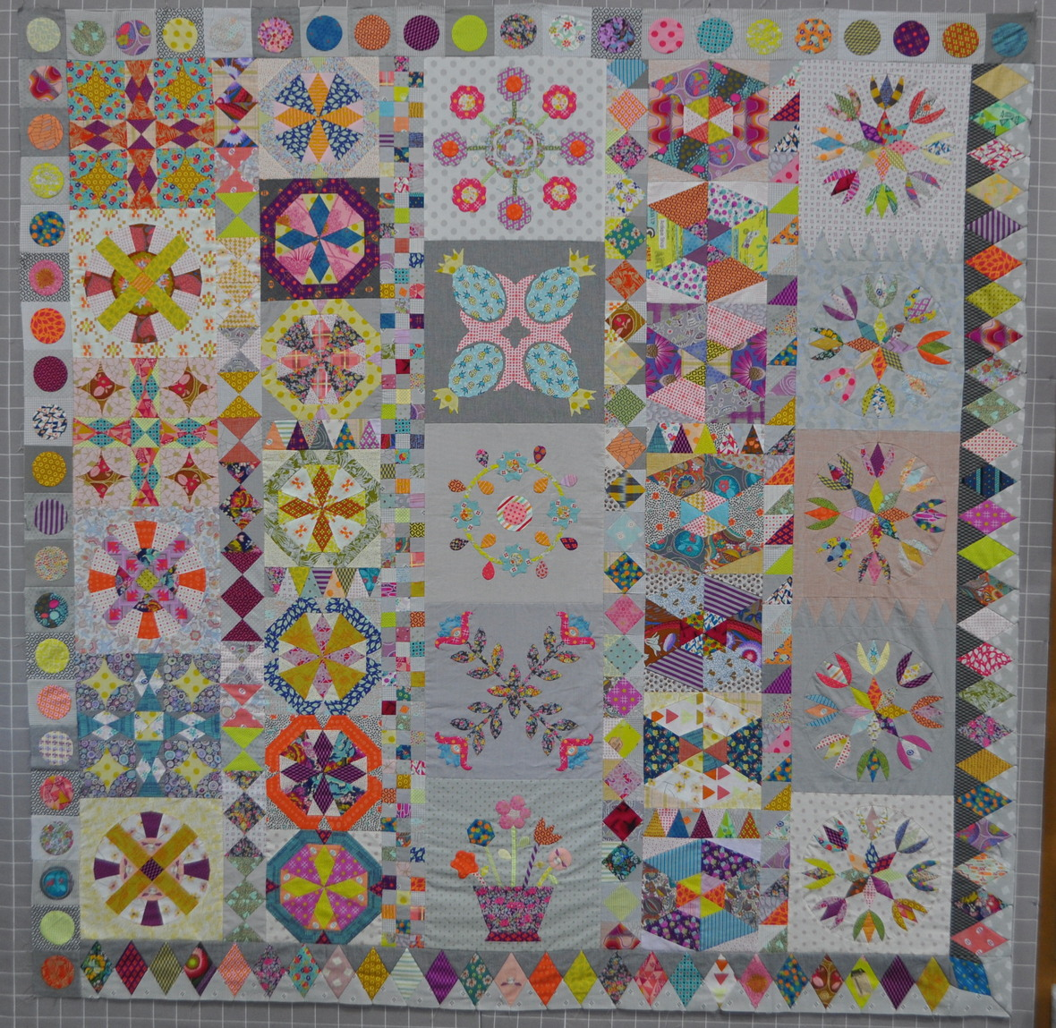 Golden Days whole quilt