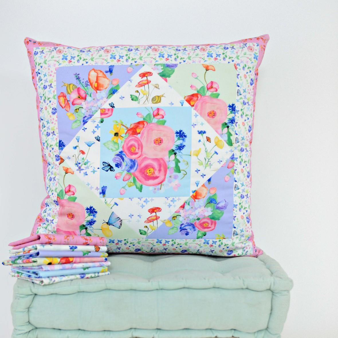 Primavera Fabric Pillow