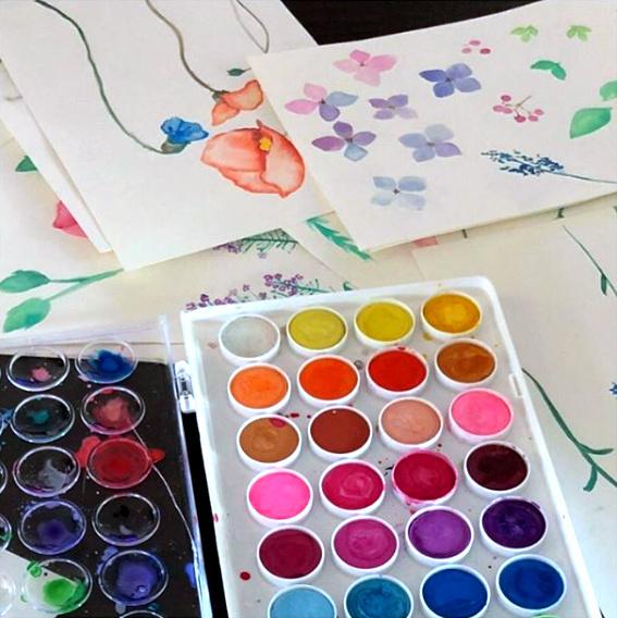 Bec Williams Primavera Watercolors