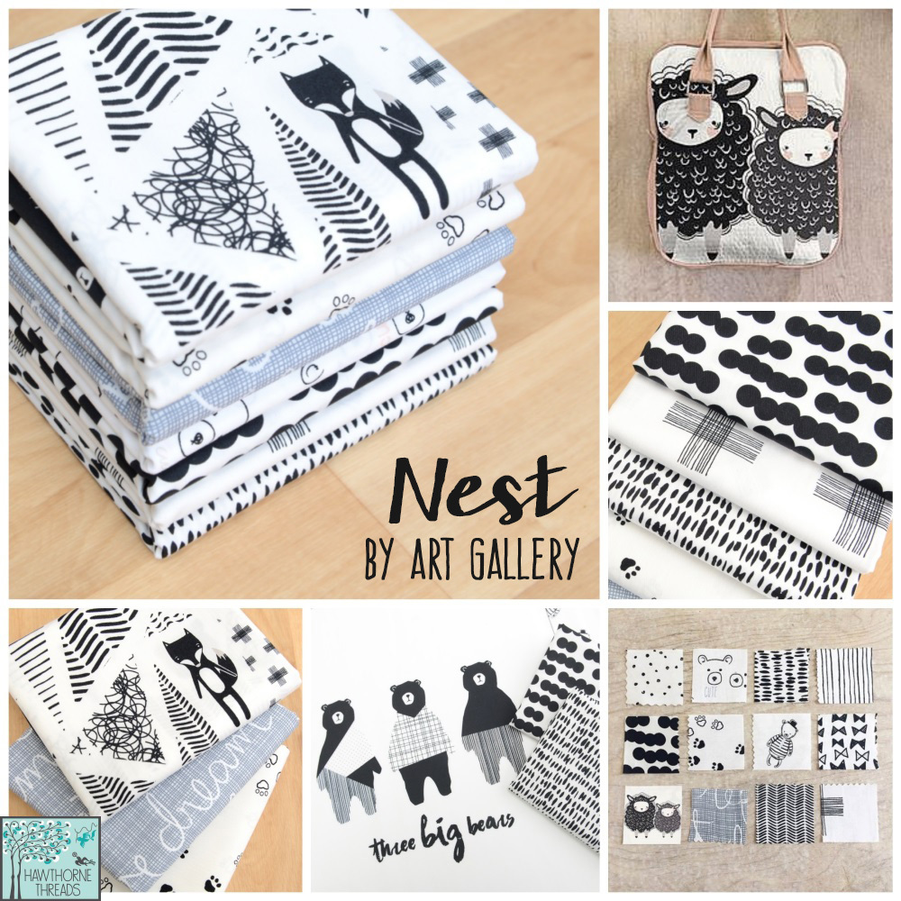 Nest Fabric Poster