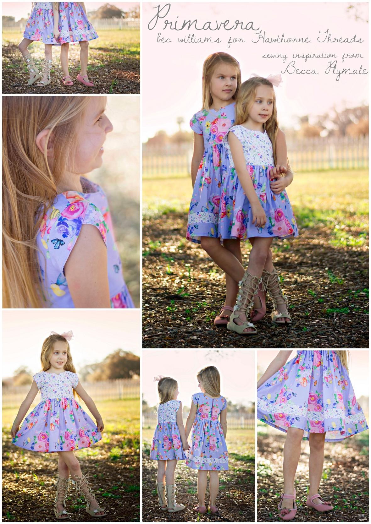 Becca Plymale Primavera Fabric Dresses for Hawthorne Threads