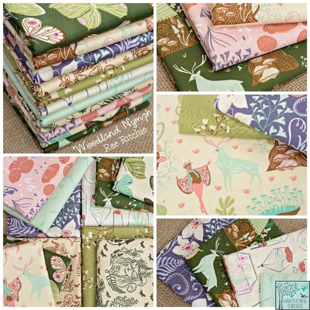 Woodland Nymph Fabric