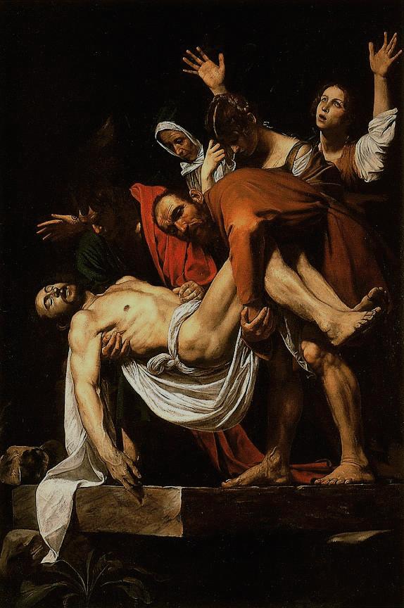 Caravaggio - La Deposizione di Cristo