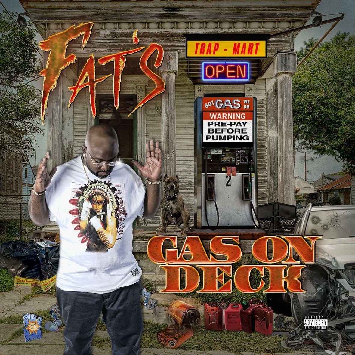 Fats GasOnDeck Cover