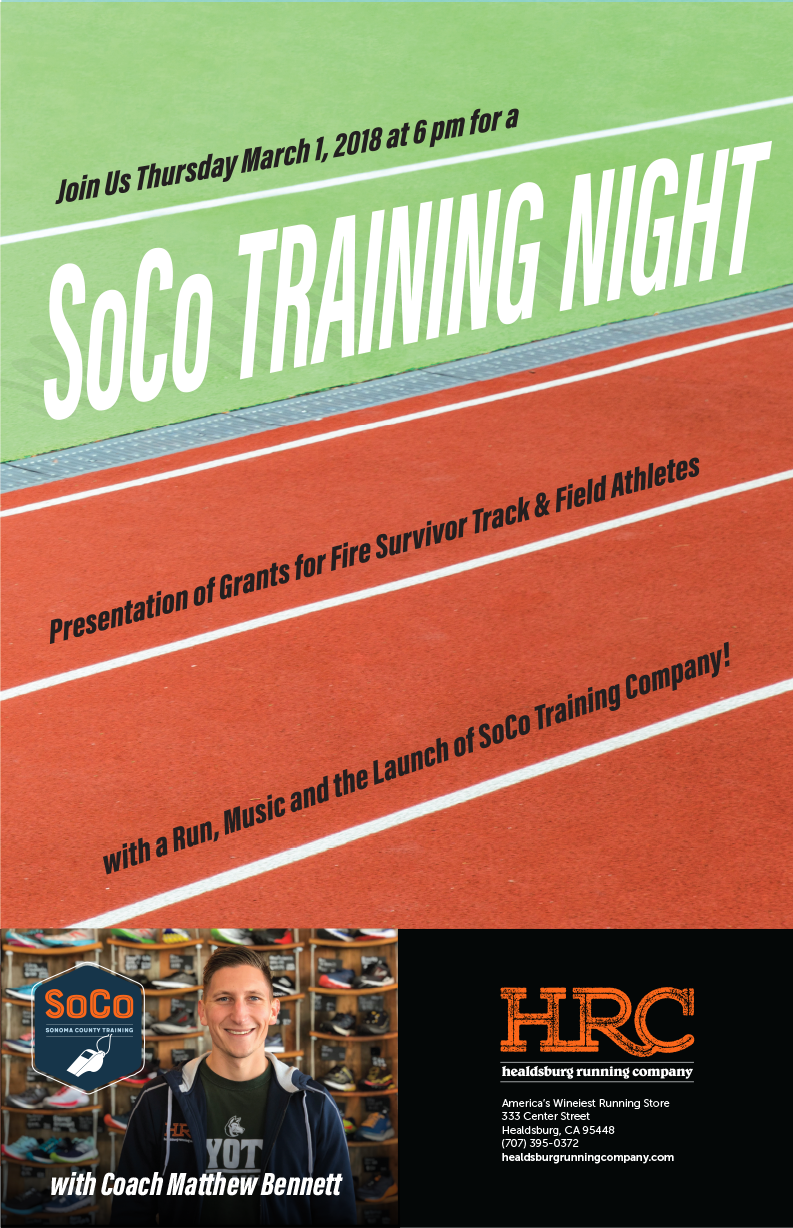 soco training night flyer