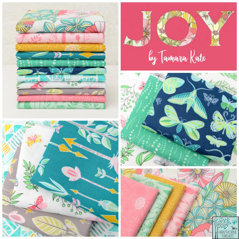 Joy fabric poster