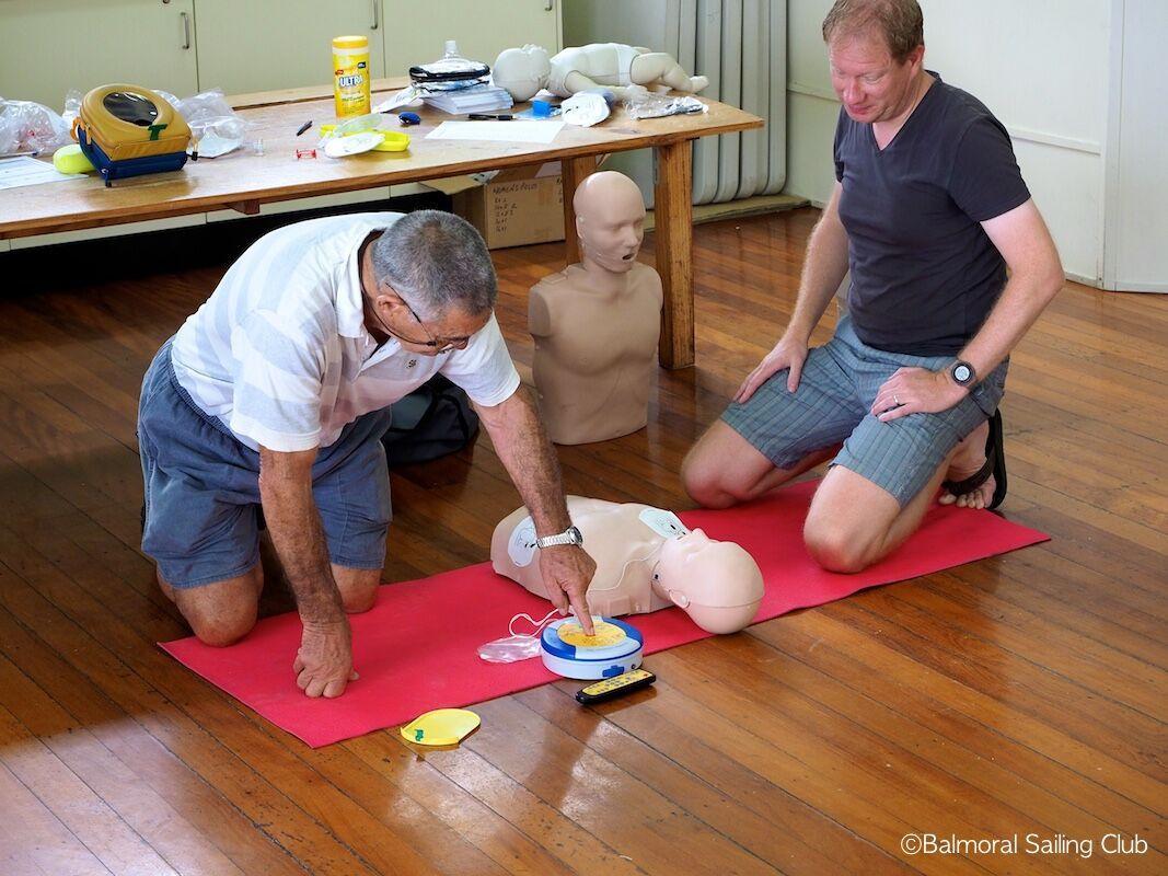CPR defib