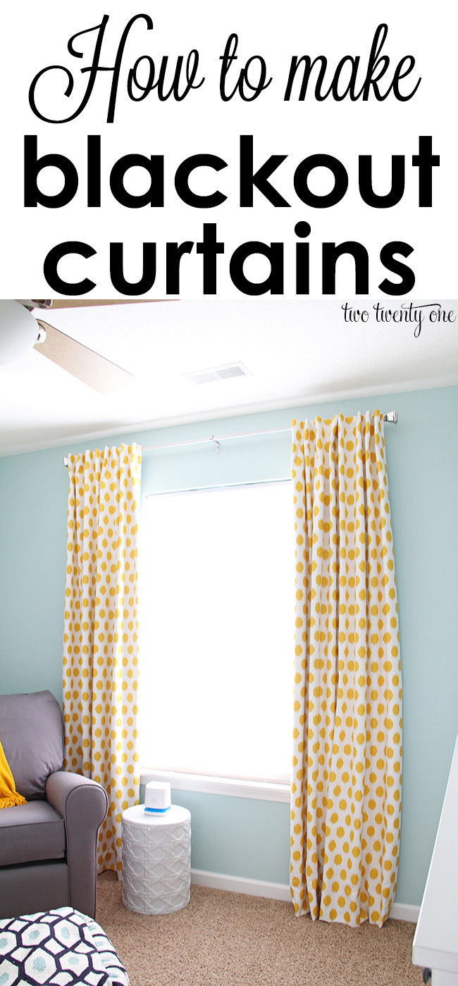 how-to-make-blackout-curtains