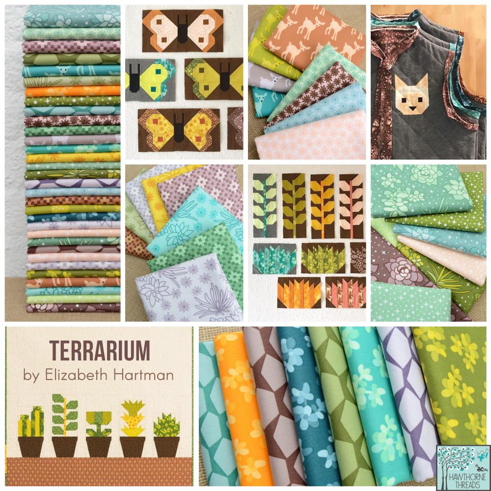 Terrarium Fabric Poster