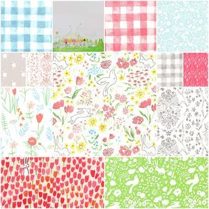 3752 sommer fat quarter bundle in breeze