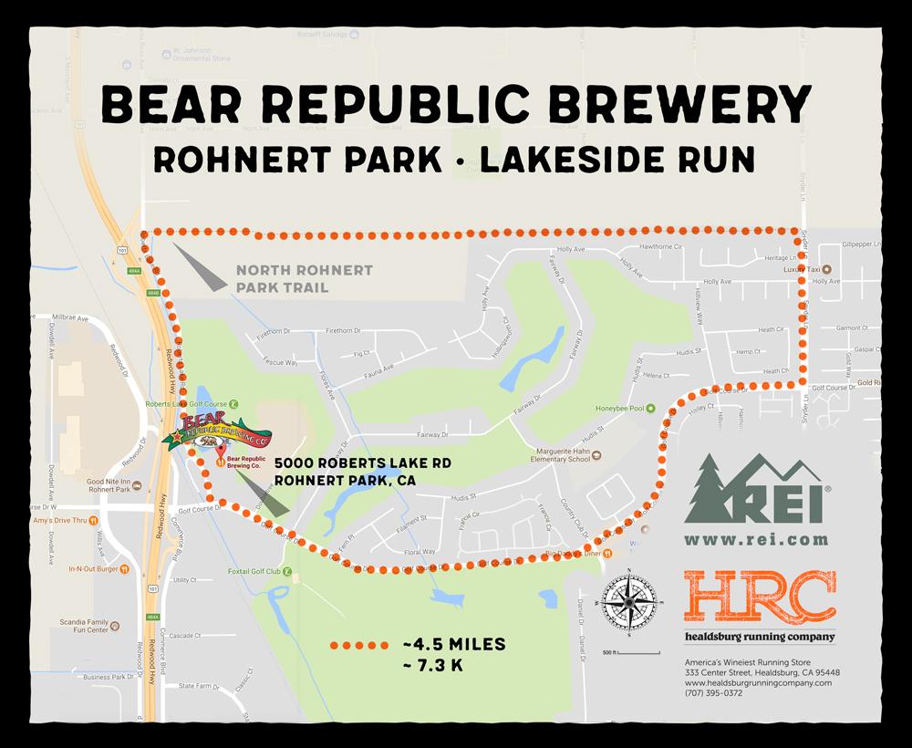 Rohnert Park map bear repub