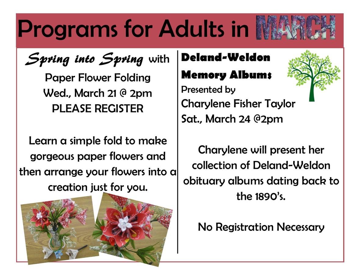 March programs