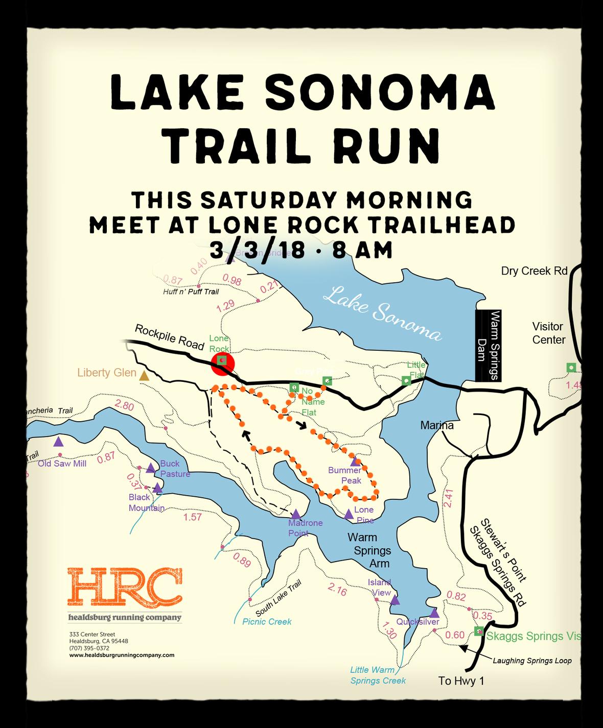 Lake sonoma lone rock newsletter