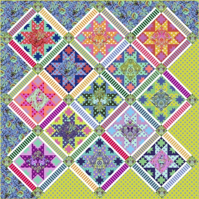 Center Stage Quilt Pattern