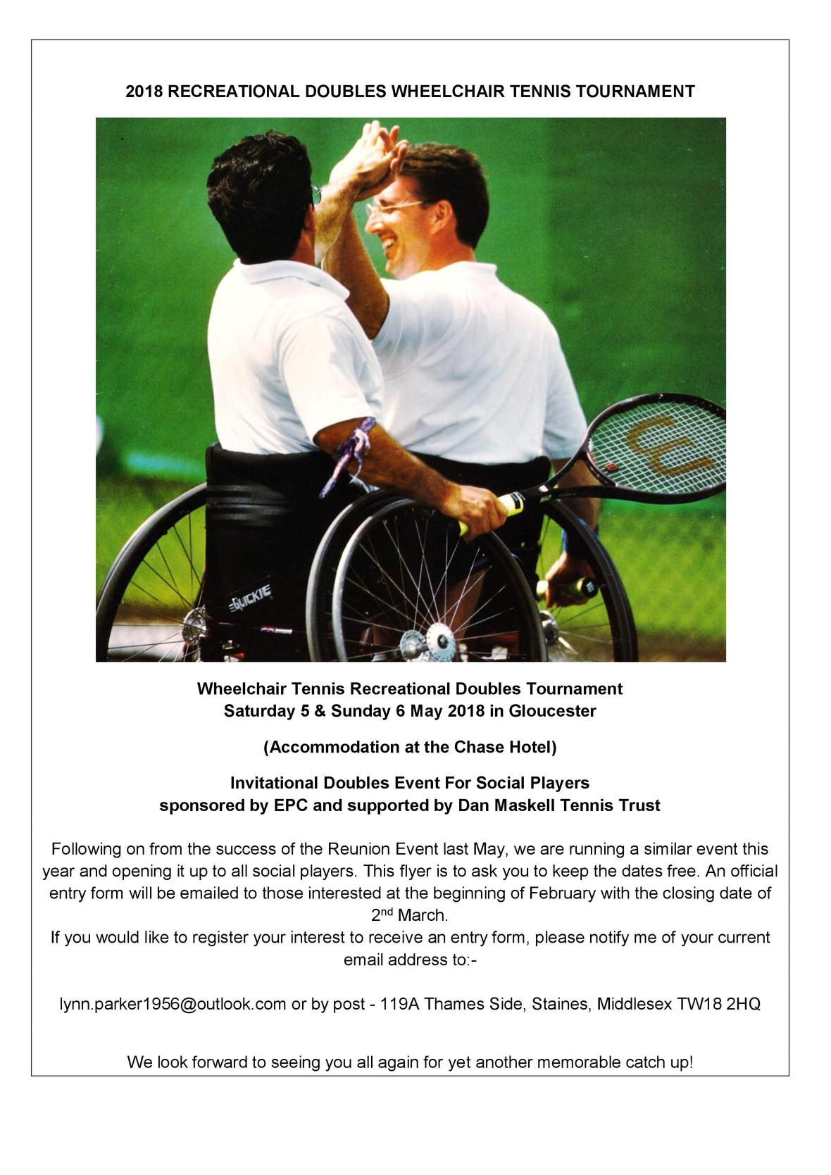 Recreational Wheelchair Doubles 2018 flyer.1