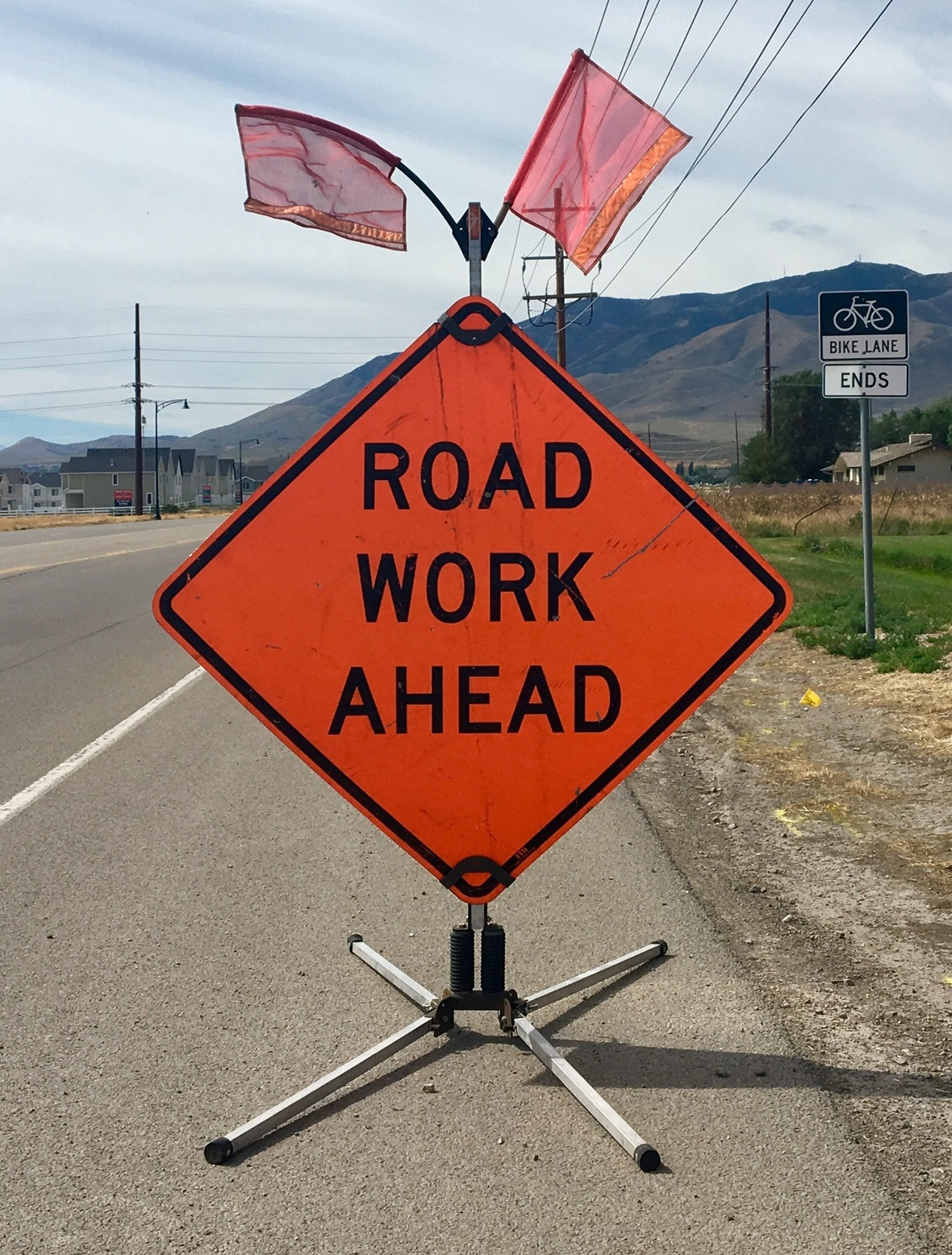 4-Road Work Ahead
