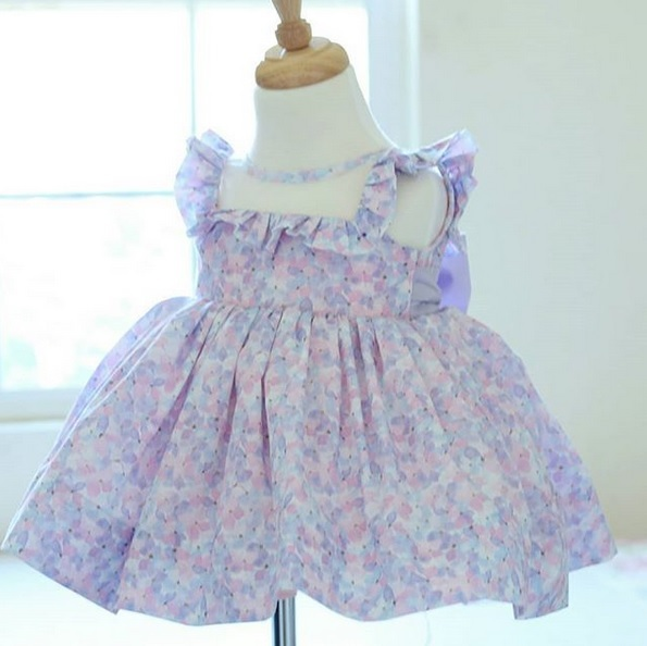 Primavera Fabric Dress from Little Sister Couturier