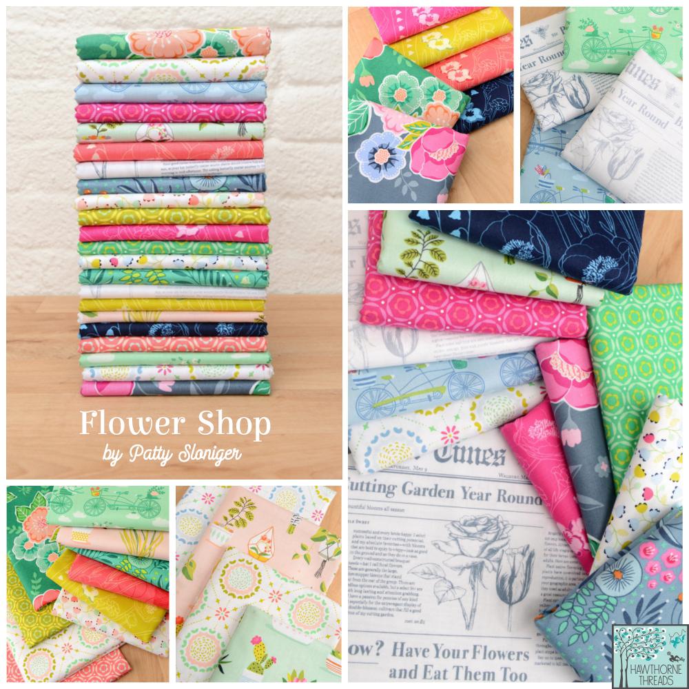 Flower Shop Fabric Poster
