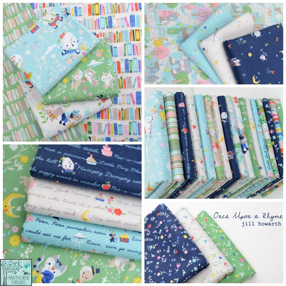 Once Upon a Rhyme Fabric