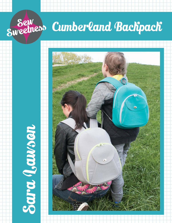 sew sweetness  cumberland backpack sewing pattern