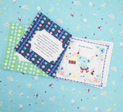Soft Book Once Upon a Rhyme Panel 02