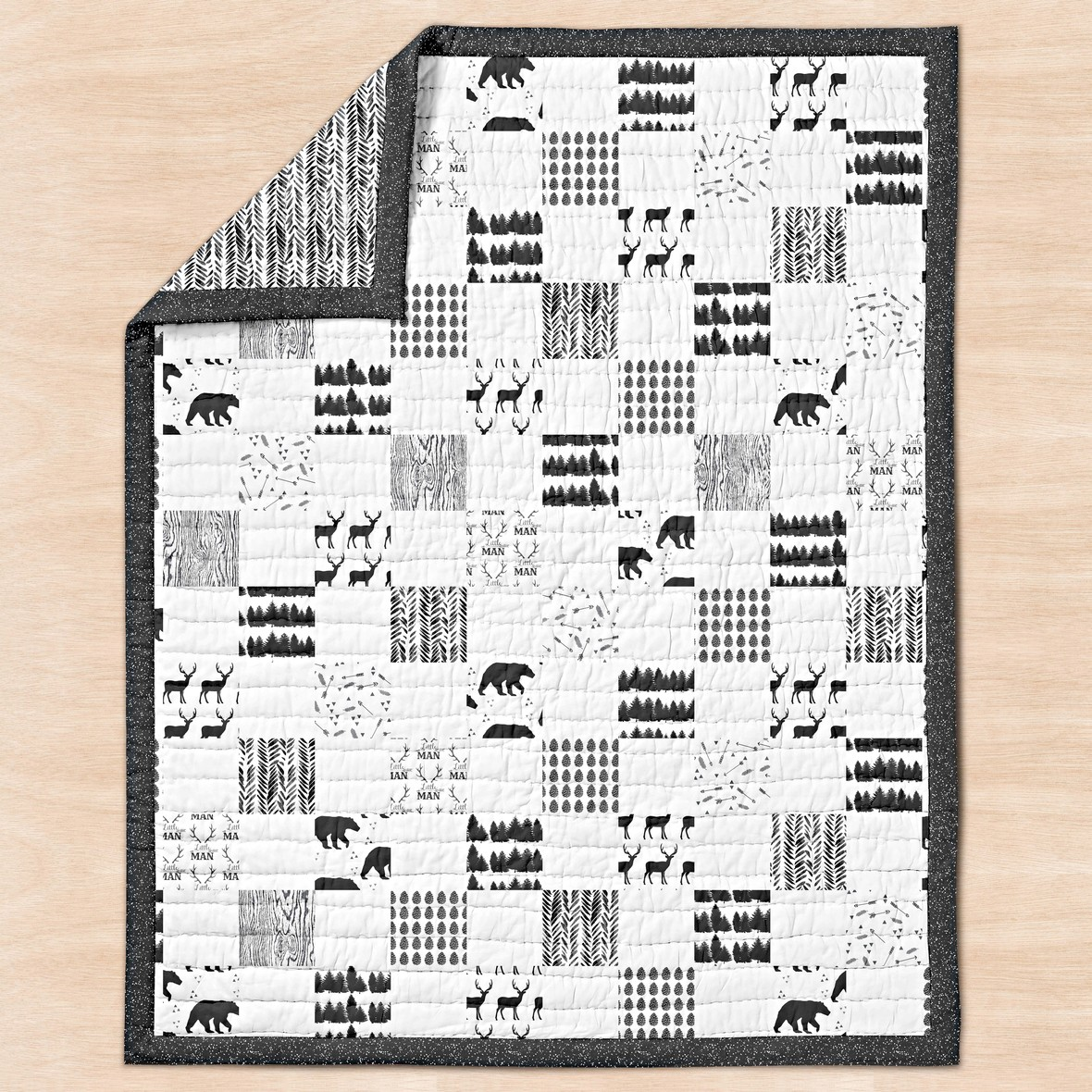 Timber Fabric Quilt