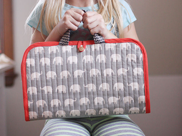 noodlehead the road trip case sewing pattern