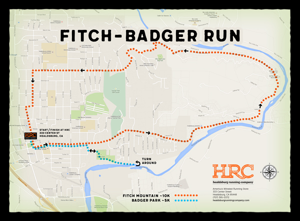 badger fitch map