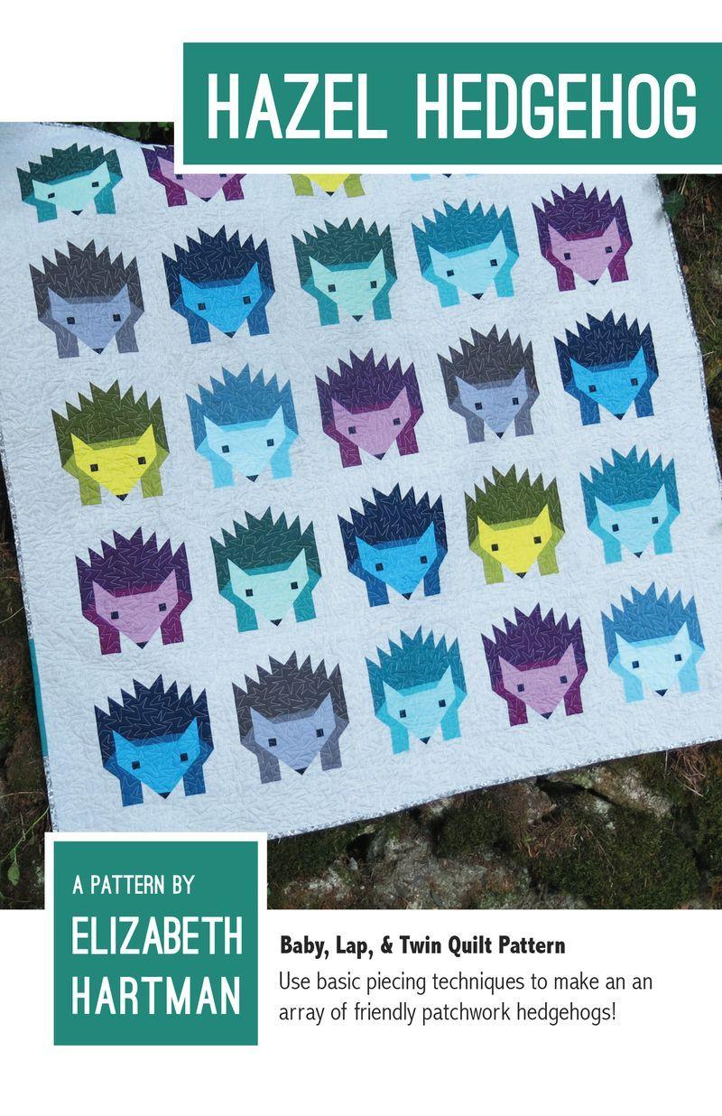 elizabeth hartman hazel hedgehog sewing pattern