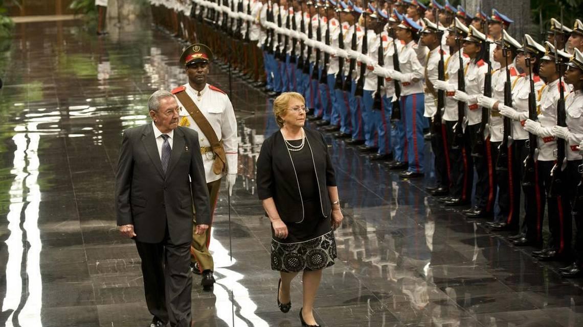 bachelet Cuba