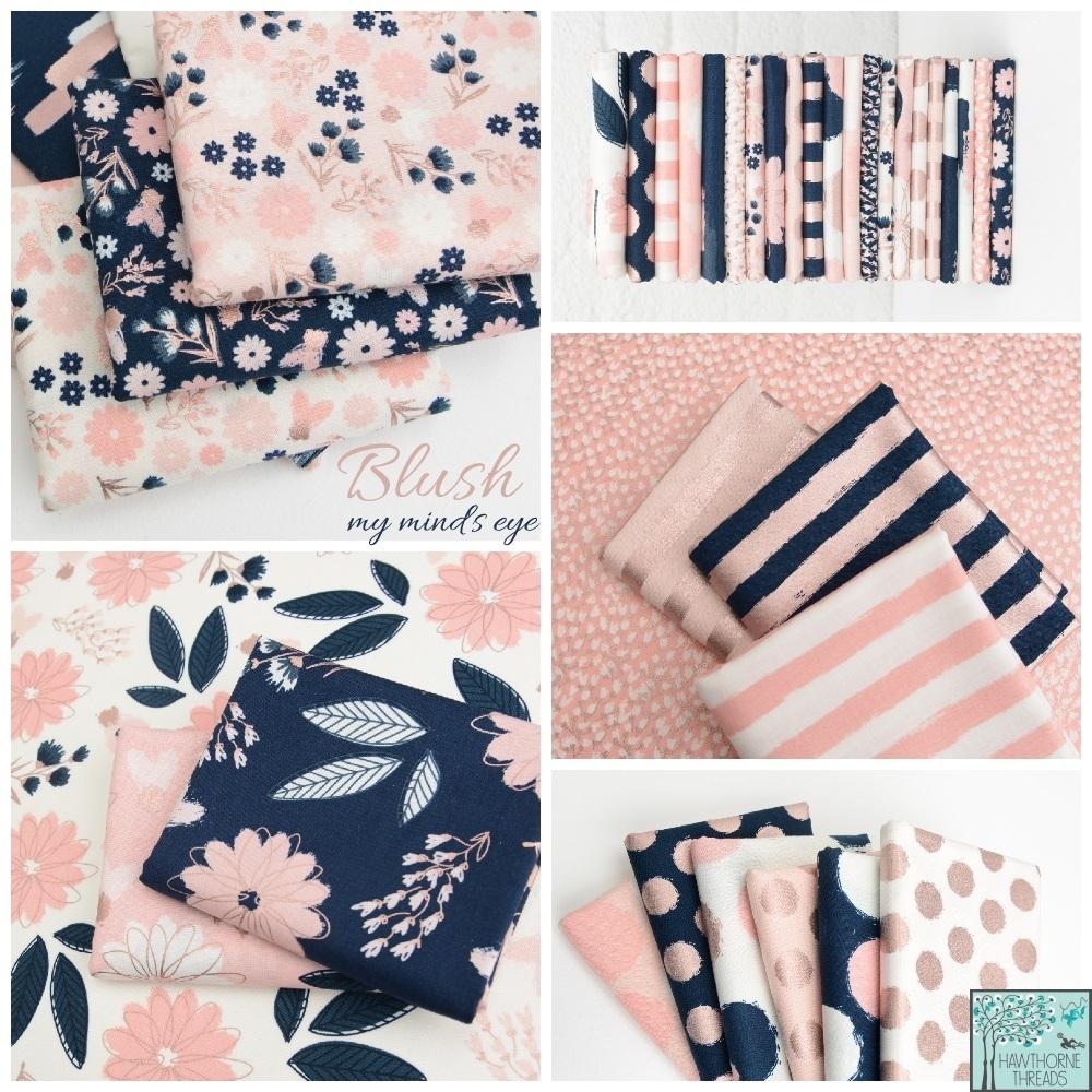 Blush Fabric Poster
