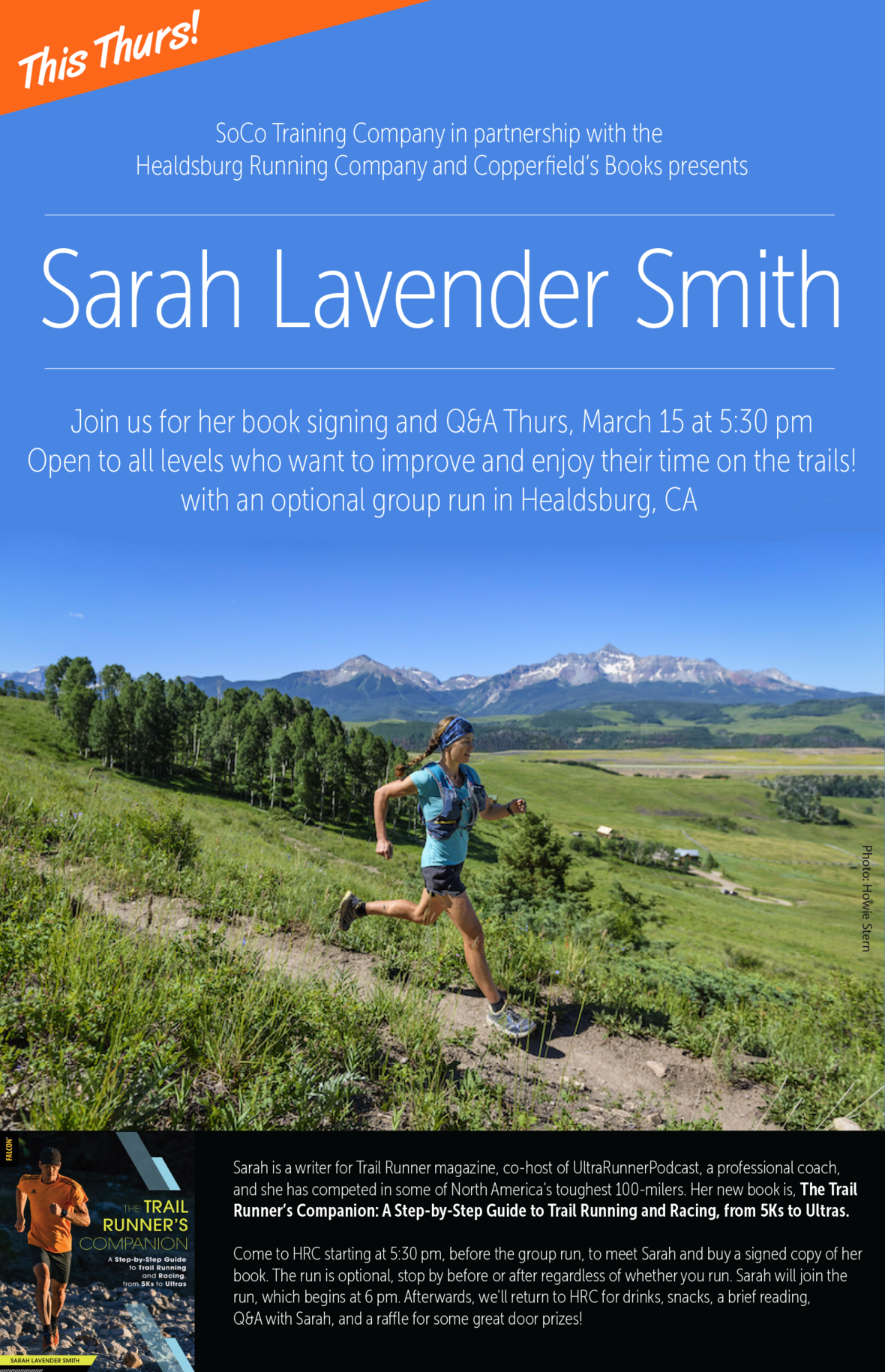 trail runner companion poster thurs