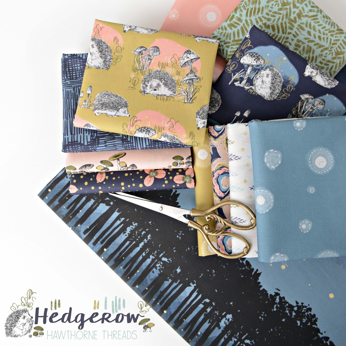 Hedgerow Fabric by Hawthorne Threads