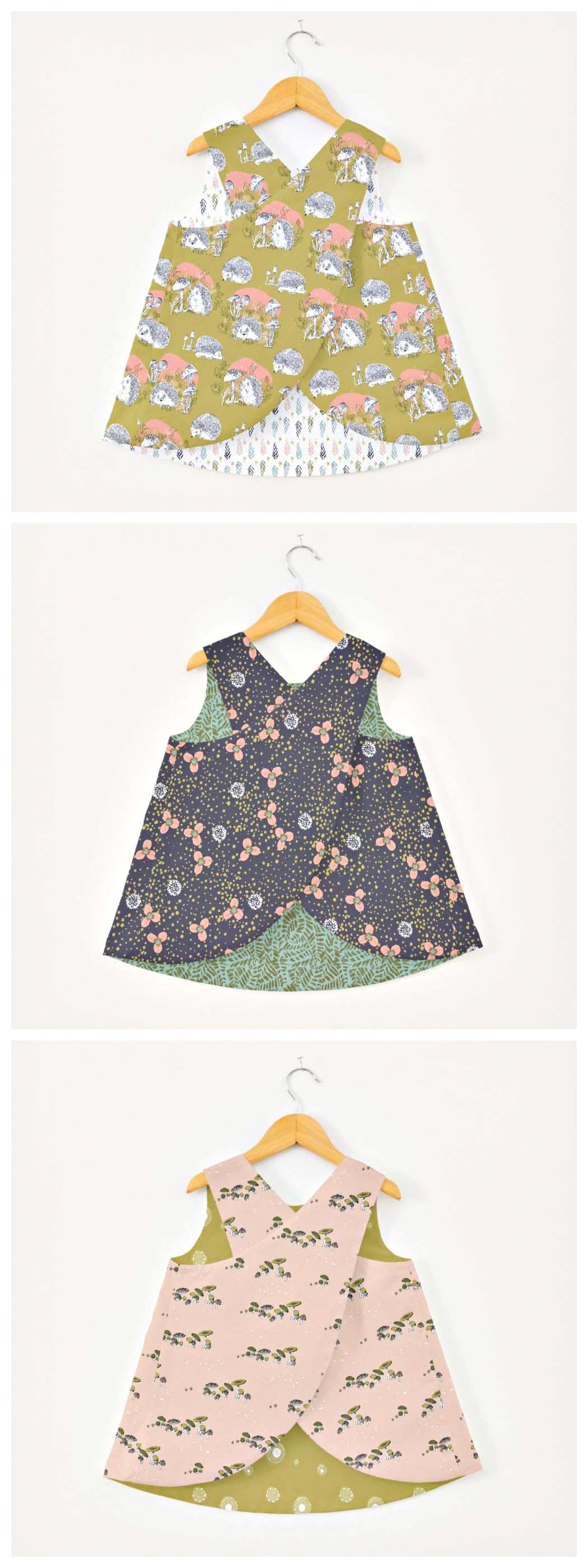 New in Original pack JULIETTE Girls Pattern by Violette Field Threads Sz 2T-10