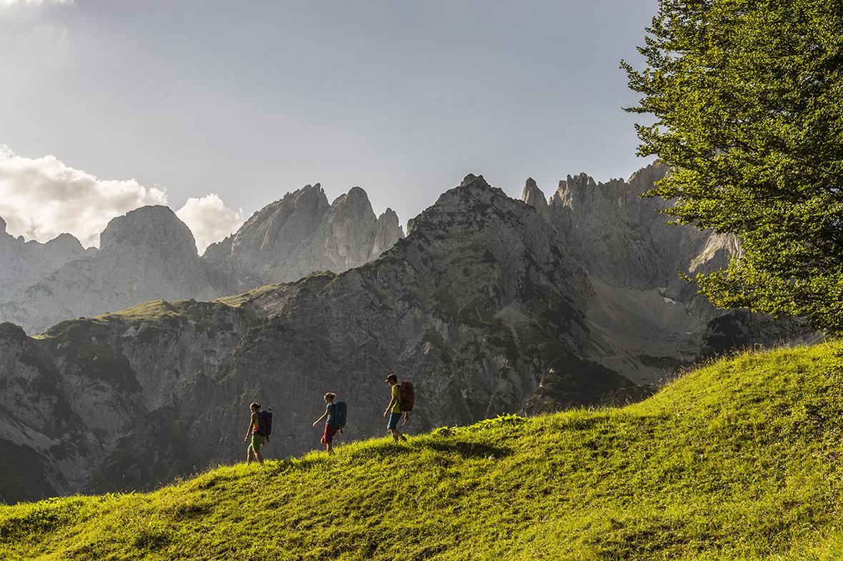 Wandern-Weitwandern Wilder-Kaiser Foto-von-Felbert Reiter- 98 danielreiterpetervonfelbert small