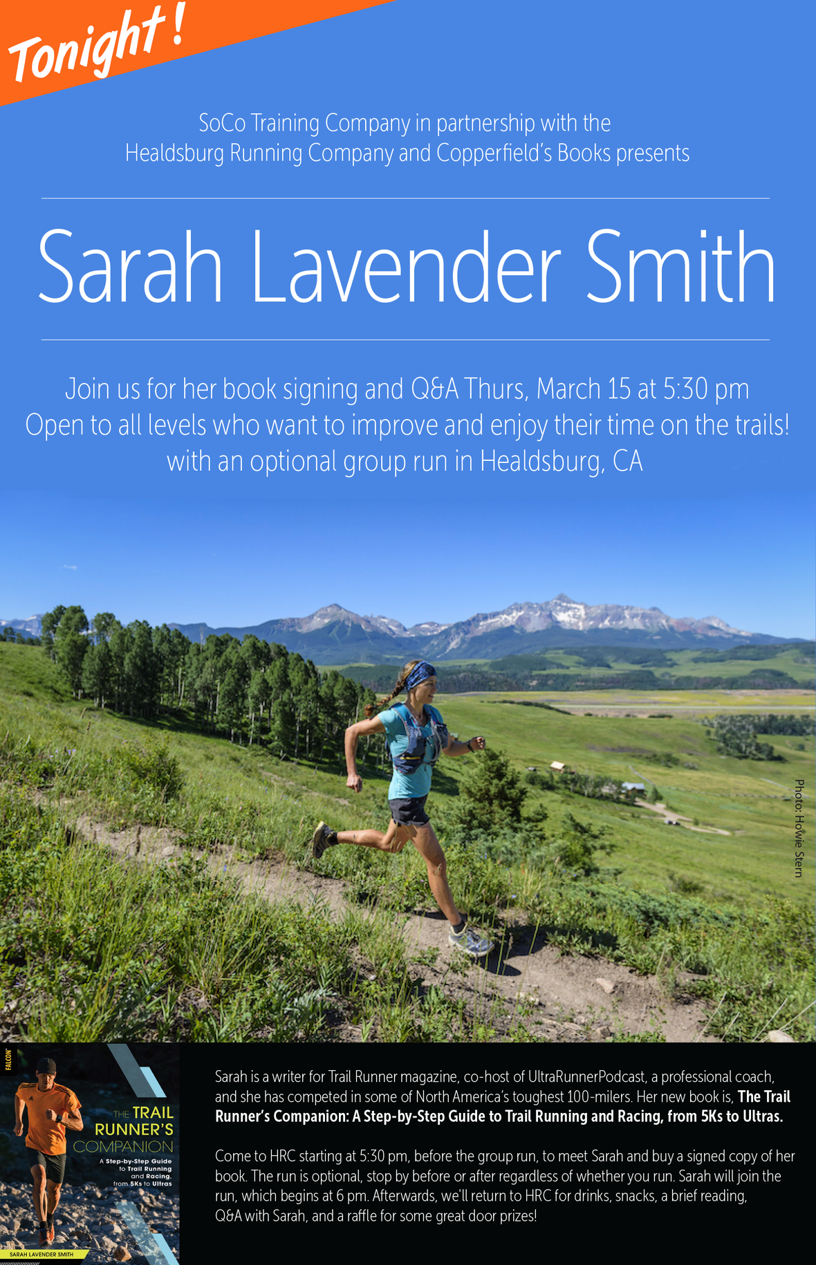 trail runner companion poster