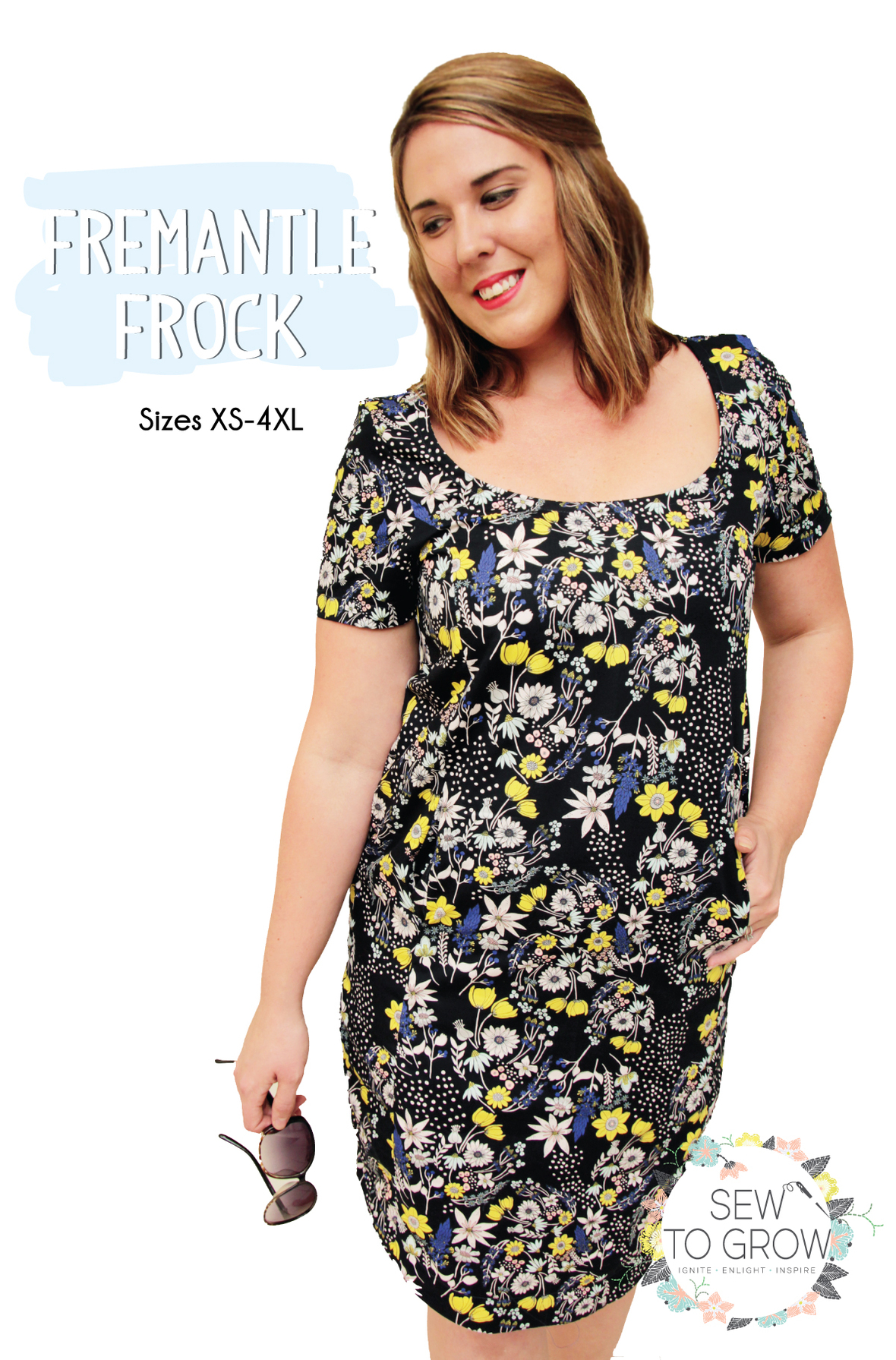 sew to grow  fremantle frock sewing pattern