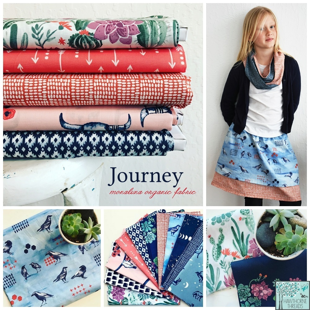Journey Fabric Poster