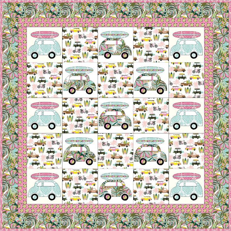 Blend website- free quilt pattern