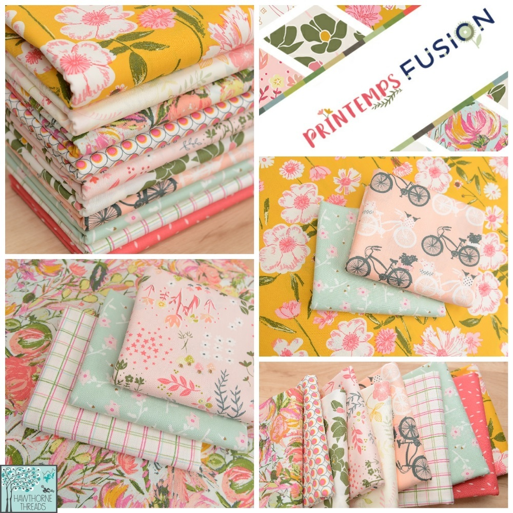 Printemps Fusion Fabric Poster