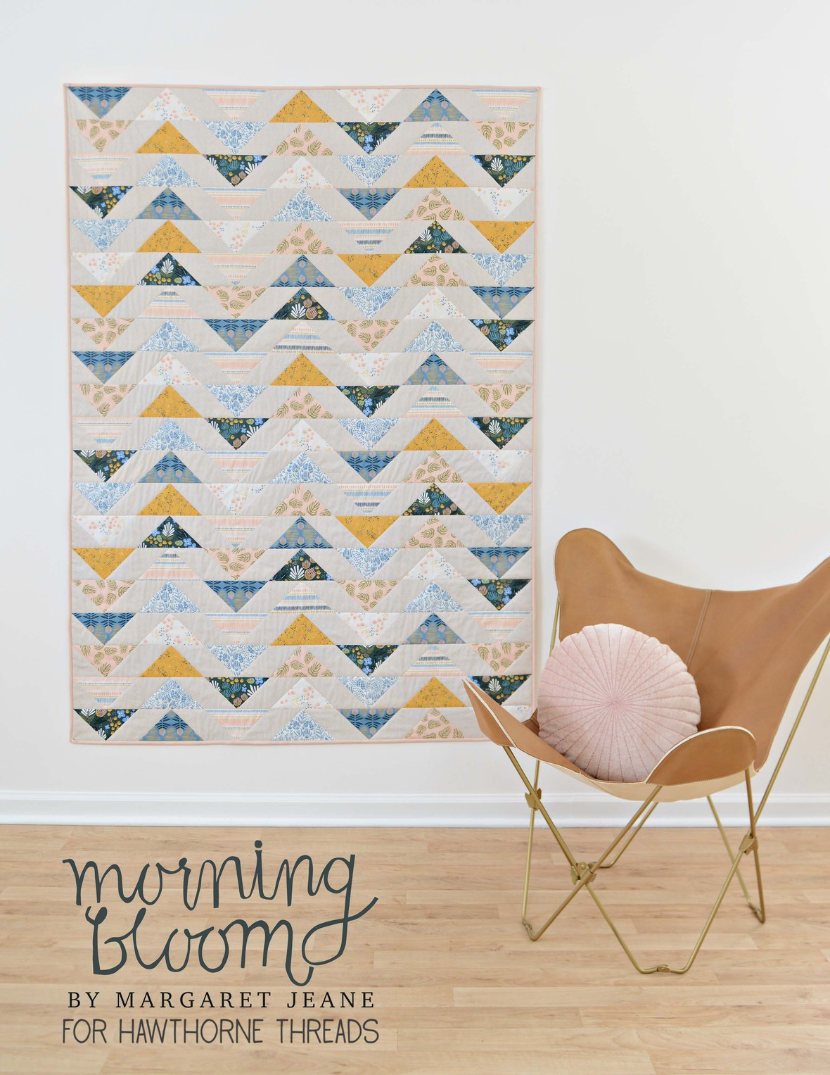 Morning Bloom Quilt logo