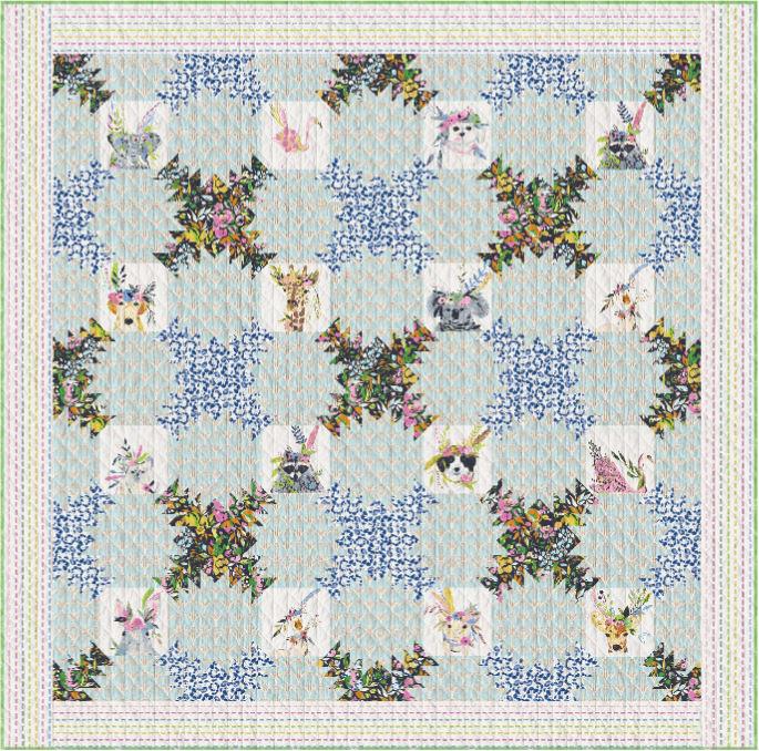 art gallery fabrics website- floraison